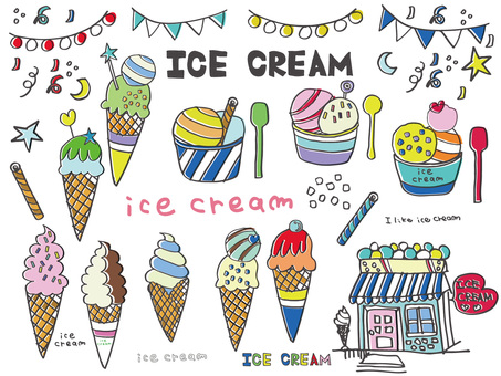 Ice cream color