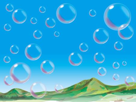 Soap bubble (3) Natsuyama