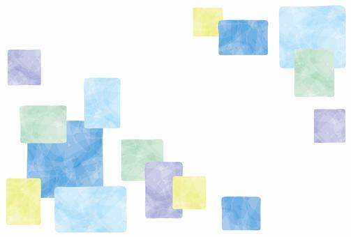 Summer image / square frame
