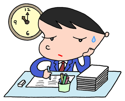 Businessman / overtime