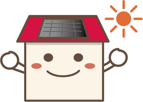 Home character (solar power generation)