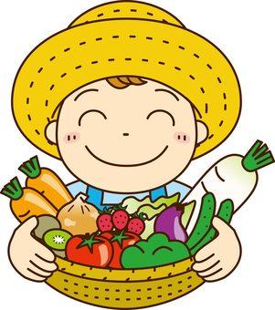 Vegetable boy 1