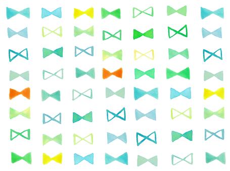 Summer color ribbon