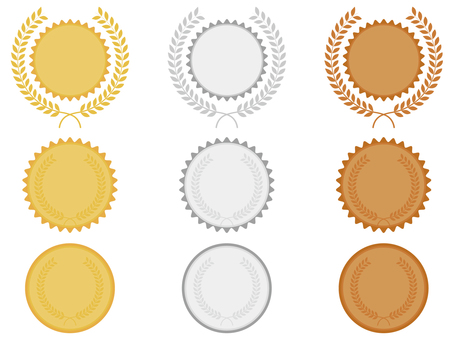 Various medals