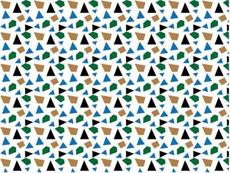 Geometric pattern black