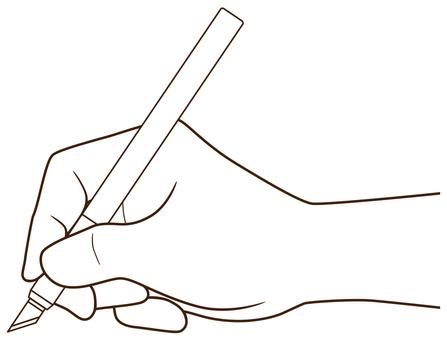 아트 나이프를 사용 _ 테두리 만