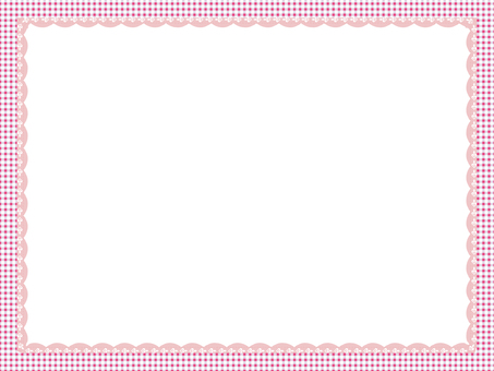 Check frame pink type