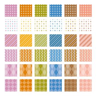 Various pattern pattern 2 Fall