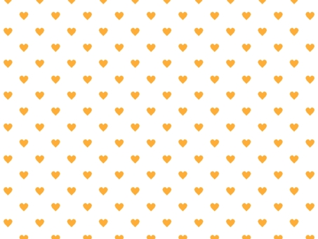 Heart pattern background 008 Orange