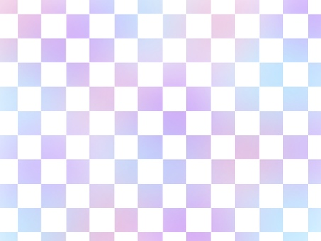 [Background material] checkered pattern