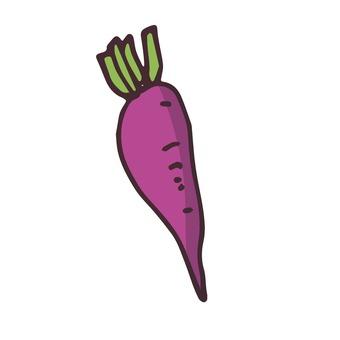 Purple root
