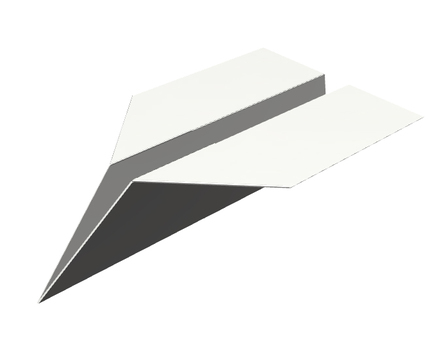 Paper flying machine 01