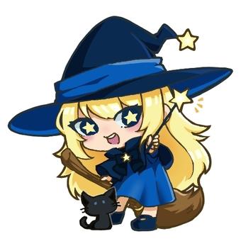 ミニキャラ 魔女ちゃん