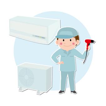 Air conditioner installation contractor