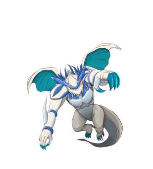 Armed dragon (ice)