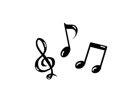 Musical notes (with notes)