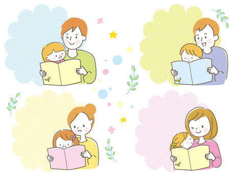 Parent-child set reading picture book
