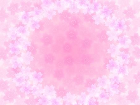 Cherry Blossom Frame C (Pink)