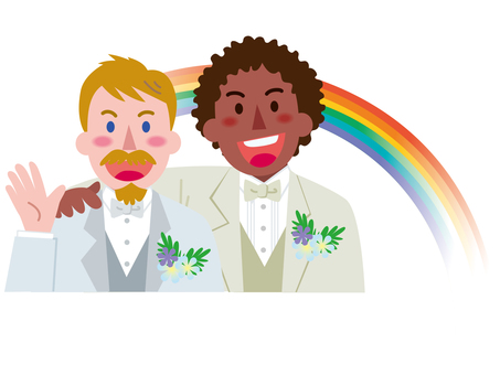 Marriage between men-Rainbow 4