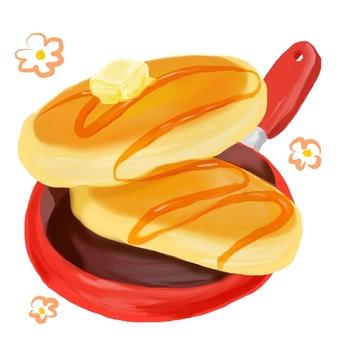 Pop hot cake