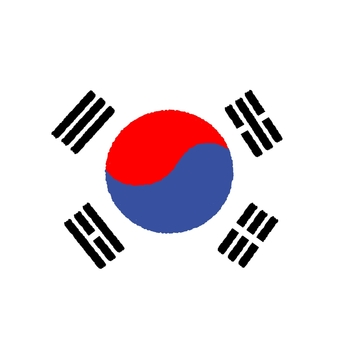 Korean flag ①
