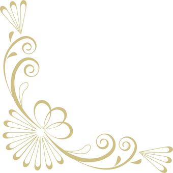 Classical decorative frame (gold frame decorative frame 11)