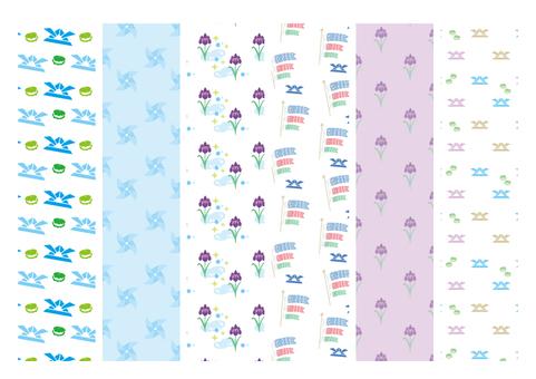 Children's Day pattern