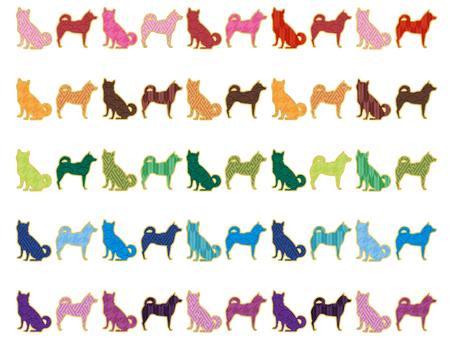 Japanese style line dog