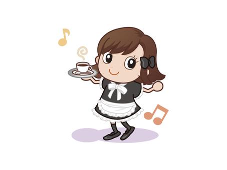 Mini character maid