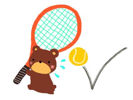 Kuma-kun tennis