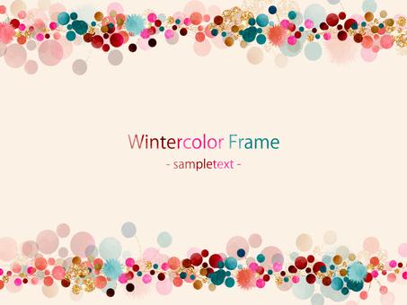겨울 색 프레임 ver01