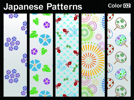 Japanese Pattern _ color 02