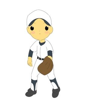 Baseball boy / dark blue