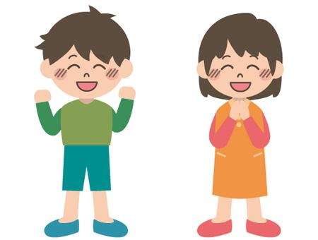兒童插畫(歡樂)