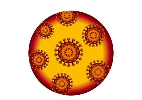 New coronavirus illustration