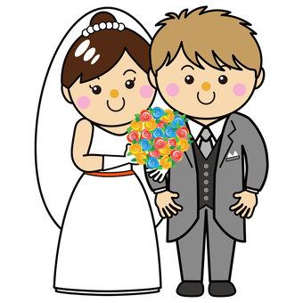 30_02 for men and women (wedding, groom, bride)