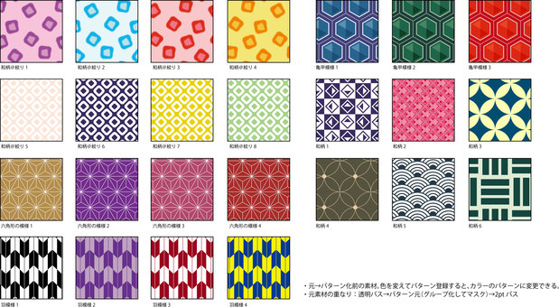 Japanese Pattern Pattern Collection