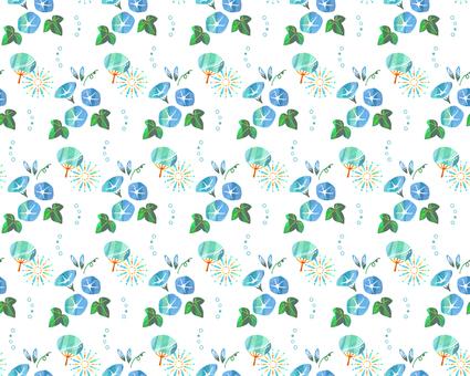나팔꽃 패턴