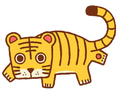 Tiger age illustration 3