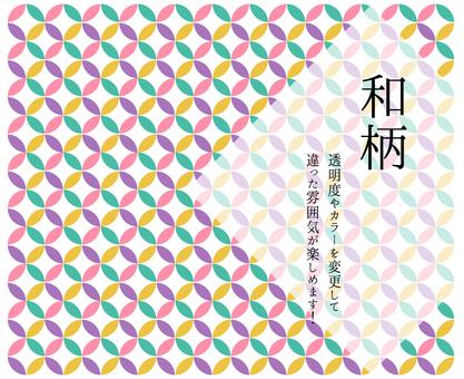 日式景泰藍花紋