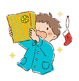 Christmas present boy