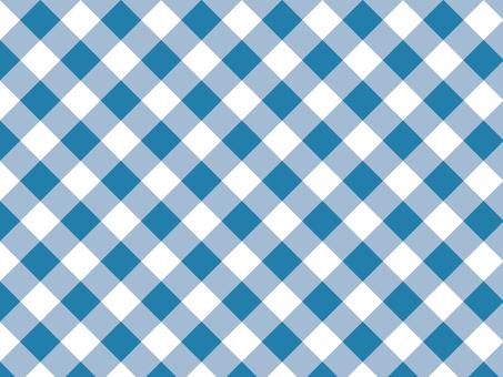 Tartan check ● Blue
