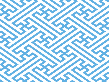 Saaya style pattern background (sky blue)