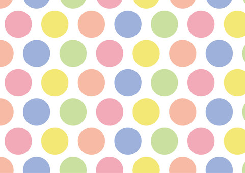 Dot pattern colorful