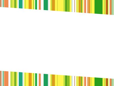 "Striped frame ""Tropical"""