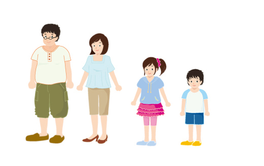 Summer clothes family