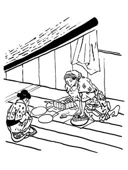 Sharpening - Edo: Ukiyoe