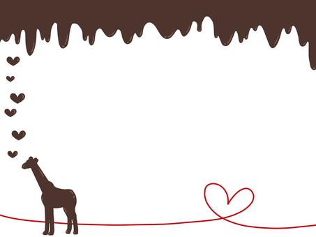 Valentine Giraffe