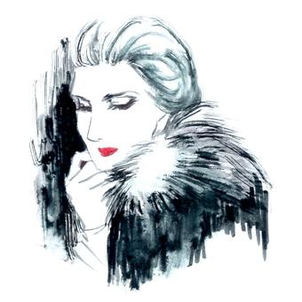 Fashionable woman 3