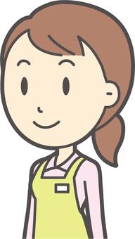 Home helper woman-354-bust